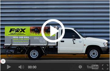 foxmowing video
